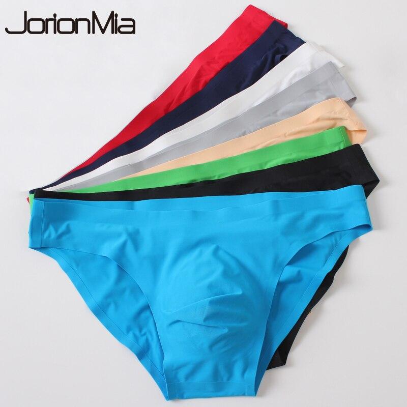 5pcs Men Seamless Underwear Sexy Men Briefs Underpants Man Cueca Masculina U Pouch Male Panties Gay Underwear Ropa Pants GX001-in Briefs from Underwear & Sleepwears