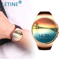 Letine Kingwear KW18 Electronic Wristwatch Phone Bluetooth Smart Watch Men Women Sport Smartwatch for iOS Android PK KW88 K88h