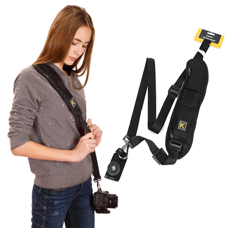 New Universal Adjustable Camera Shoulder Neck Strap Belt For Canon Nikon Sonys F2 with Hook