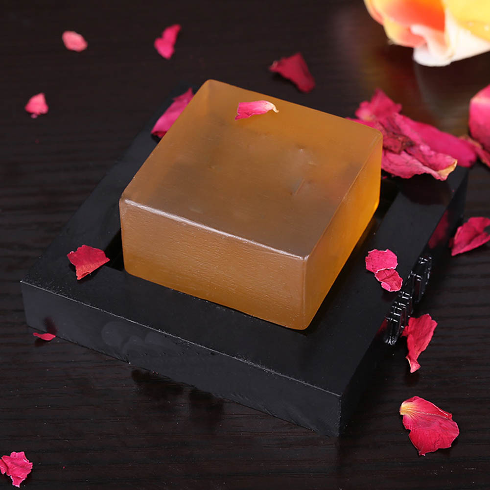 100g Facial Cleaning Whitening Soap Oil Control Face Care Essential Oil Handmade Soaps for Men Women KG66