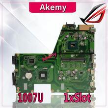Akemy X551CA материнская плата для ноутбука ASUS X551CA X551CAP X551C X551 F551C F551CA Тесты оригинальная материнская плата 1007U 1 xSlot