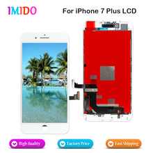 5 PCS LCD For iPhone 7 Plus LCD Display OEM Touch Screen Digitizer Assembly No Dead Pixel Complete Replacement DHL shipping high quality 5 5 for huawei honor 6 plus lcd display assembly complete with touch screen digitizer free shipping