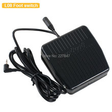 CHUSE L08 Plastic Antiskid Machine Foot Switch Power Supply, Foot Pedal Controller For Permanent Tattoo Machine Tattoos