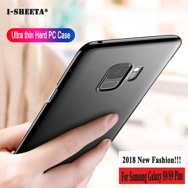Shockproof For Samsung Galaxy Note 9 8 10 S10 S9 S8 Plus Lite 5G Slim Matte Hard PC Case For Samsung Galaxy J4 J6 A6 A8 A7 2018