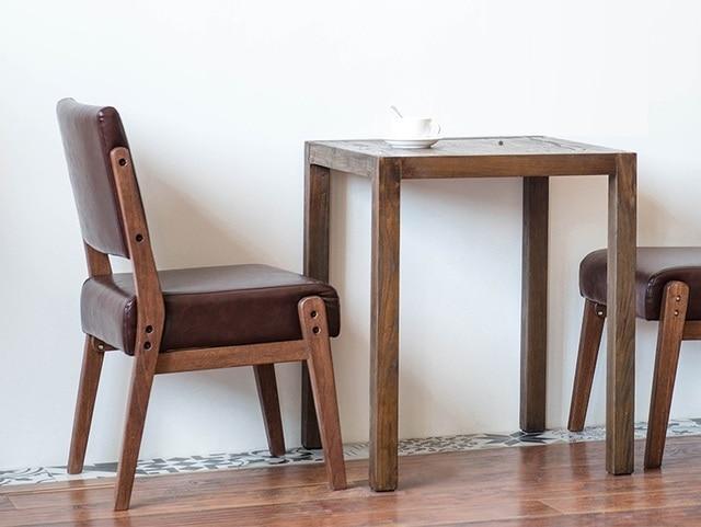 Coffee house sgabello da bar sedia con struttura in legno massello ...