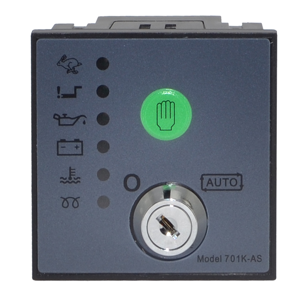 Free shipping 701K-AS Auto Start Generator Controller Board Key Start Module free shipping dse7310 generator controller auto start control module suit for any diesel generator