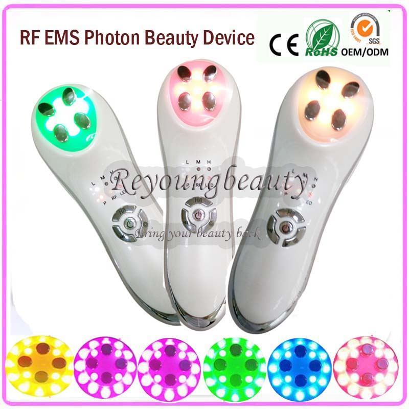 Mini RF Skin Tightening Face Lifting Wrinkle Cellulite Removal IPL Led Photon Light Therapy Face Beauty Instruments anti acne pigment removal photon led light therapy facial beauty salon skin care treatment massager machine