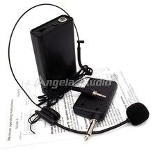 Profesional Transmisor Receptor Sistema de Karaoke Micrófono Inalámbrico Micrófono Auricular Para la Etapa Cantante Cantar KTV Discurso Mezclador De Audio