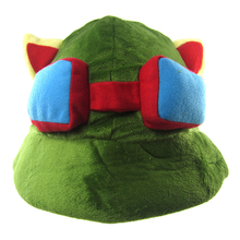 Cosplay LOL Swift Scout Teemo Army Green Cricket-Cap Sun Hat Peaked Cap цена