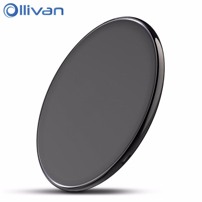 Ollivan Qi Wireless Charger For Iphone X Mobile Phone Charger Oneplus 5t Quick Charging Adapter For