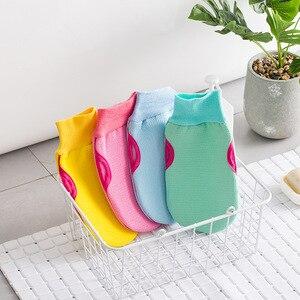 Image 4 - 1 peça moda breve banho bola banheiras de banho local fresco bola toalha de banho purificador do corpo limpeza luva chuveiro lavagem esponja produto