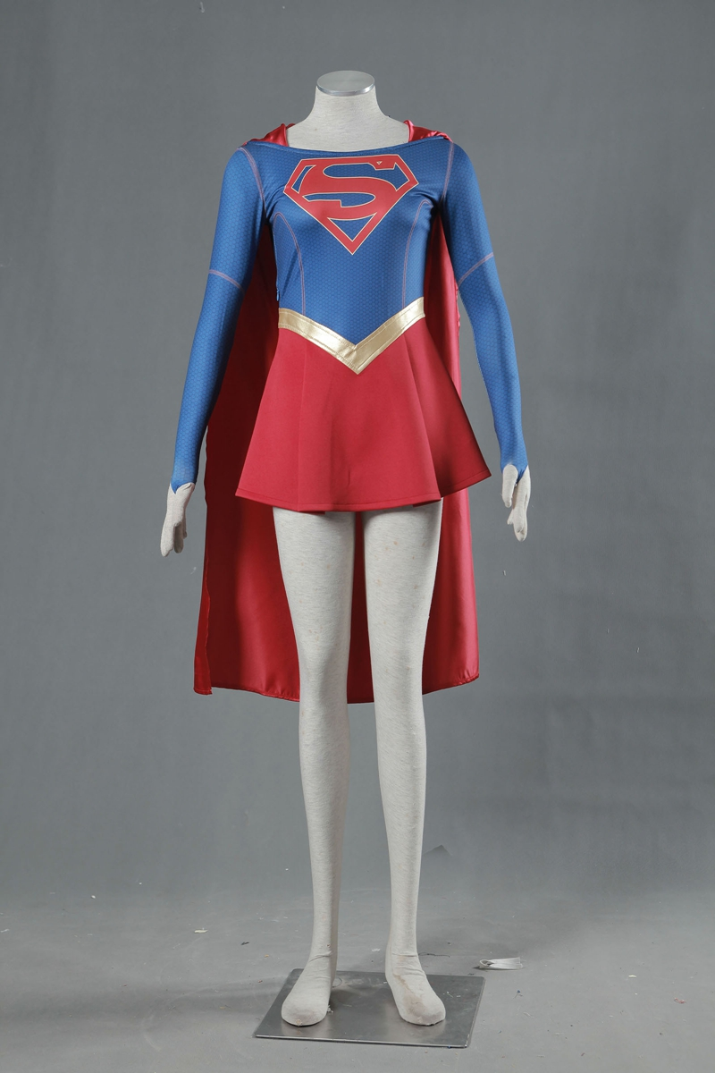 Qualified Supergirl Kara Zor-el Danvers Costume Cape Cosplay Costume Halloween Carnival Costumes Tailor Made Excellent Quality Back To Search Resultsnovelty & Special Use
