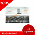 English keyboard for FOR Lenovo U510 U510-IFI z710 WITH SILVER FRAME US Keyboard