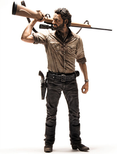 NEW hot 23cm The walking dead Rick Grimes action figure toys collection Christmas gift doll with box new hot 13cm the night hunter vayne action figure toys collection doll christmas gift no box