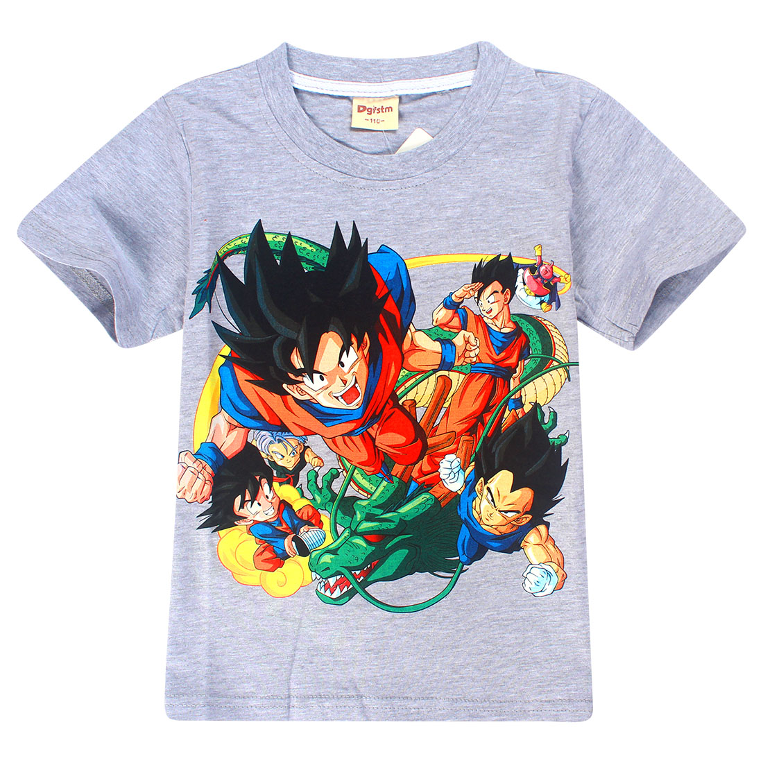 roblox New Children Dragon Ball Toddler Goku Funny T-Shirts Kids outfits Top Boys/Girls Short Sleeve Clothes Anime Baby T shirt