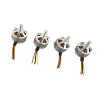 2 Pairs CW CCW Brushless Motors Spare Parts for MJX B5W RC Drone Quadcopter