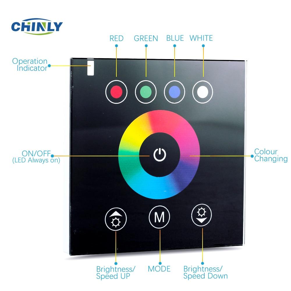 RGB Controllers 2.4G անլար Սև գույնի անջատիչ - Լուսավորության պարագաներ - Լուսանկար 2