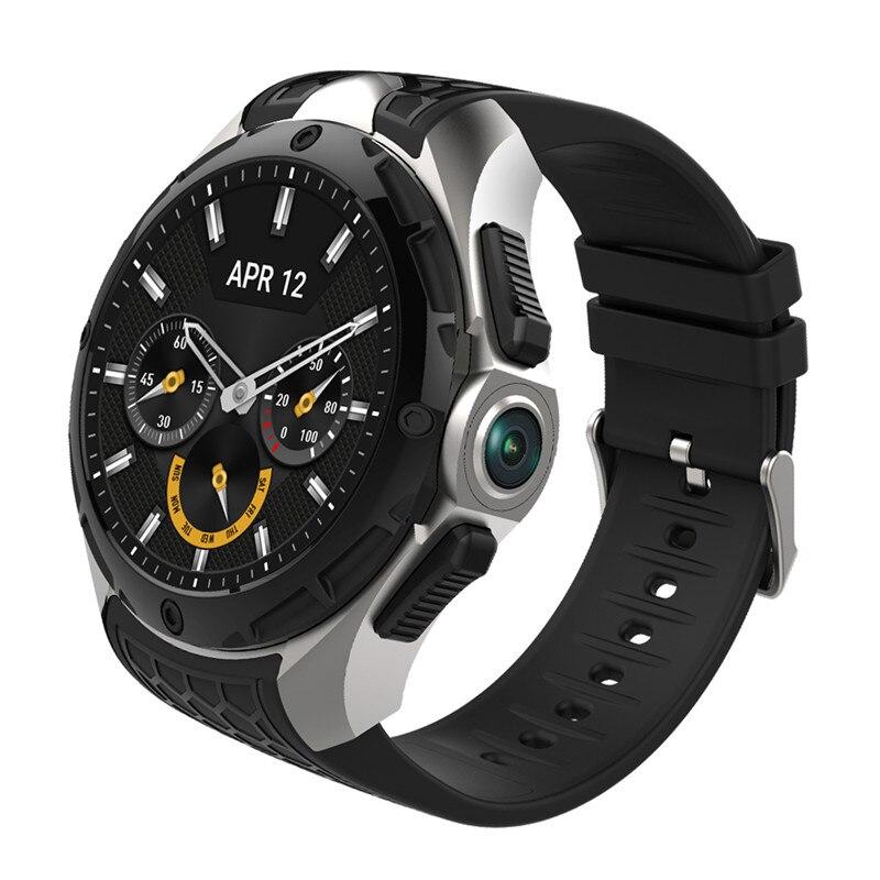 W2 3G Smart Watch Phone 16GB 2GB 2MP Camera 1 39 Inch AMOLED Screen Nano SIM