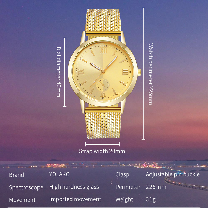 Smooth Mirror Watch Unisex Quartz Clocks Multicolor Mesh Strap Simple Party Decoration Colorful WristWatches relogio masculino in Quartz Watches from Watches