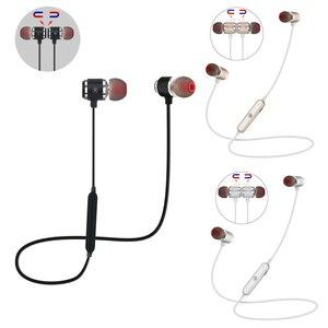 Image 1 - QAIXAG Neue wireless Bluetooth headset sport magnetische Bluetooth headset in ohr für alle handys mit Bluetooth