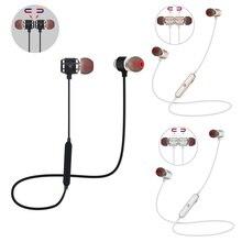 QAIXAG nuevos auriculares inalámbricos Bluetooth auriculares deportivos magnéticos Bluetooth en la oreja para todos los teléfonos móviles con Bluetooth