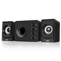 SADA D 205 2.1 Computer Speaker with Subwoofer Best for Music, Movies, Multimedia PC and Gaming Systems