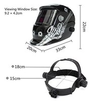 Car Welding Helmet Mask Solar Auto Darkening Welder Protective Gear ARC MIG TIG For Car Service Repair Wear Equipment