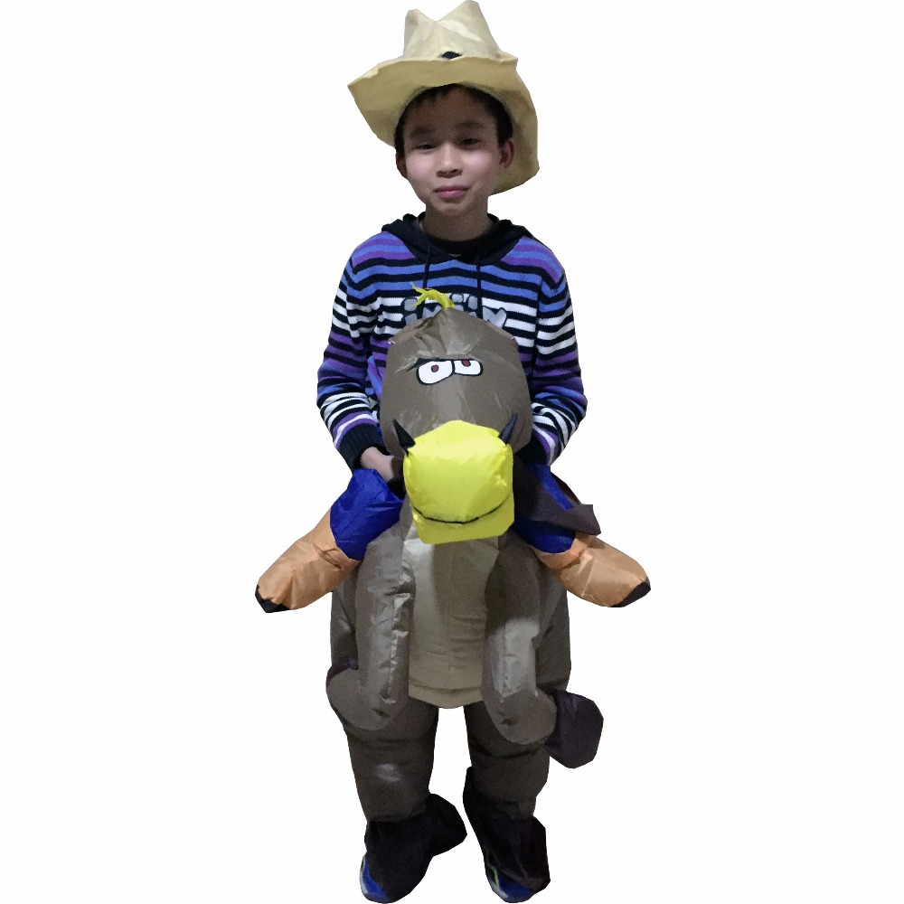 Kids Cow boy Rider Horse Brown Cowboy Horse Inflatable 6 to 9 age Kids Costume Halloween Costume For Kids christmas costumes -in Boys Costumes from Novelty ...  sc 1 st  AliExpress.com & Kids Cow boy Rider Horse Brown Cowboy Horse Inflatable 6 to 9 age ...