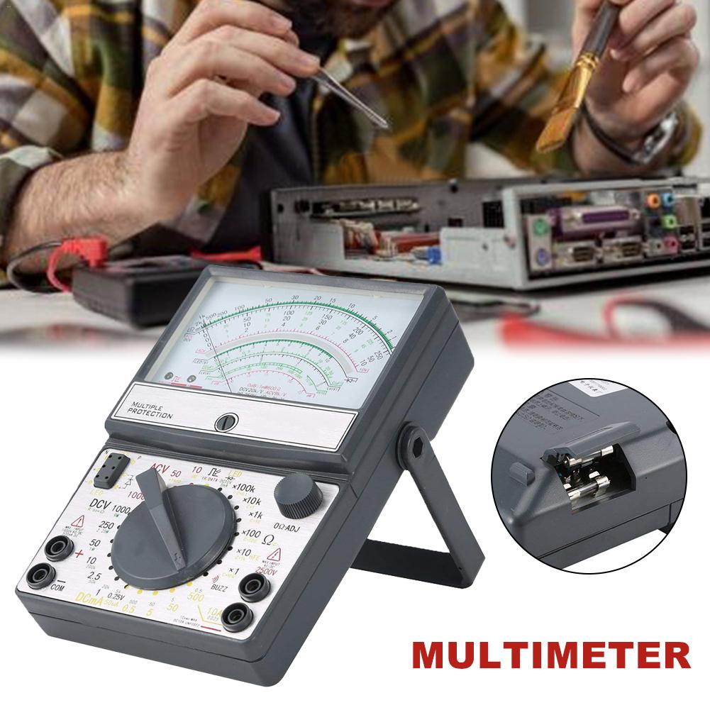 Pointer Type Multimeter Mechanical High Precision Anti-Burning Buzzer Full Protection MultimeterPointer Type Multimeter Mechanical High Precision Anti-Burning Buzzer Full Protection Multimeter