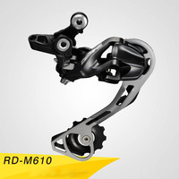 High Quality Rear derailleur Cycling MTB 9 10/27 30 Speed Transmission Rear derailleur Bike Parts fiets onderdelen Mid Cage