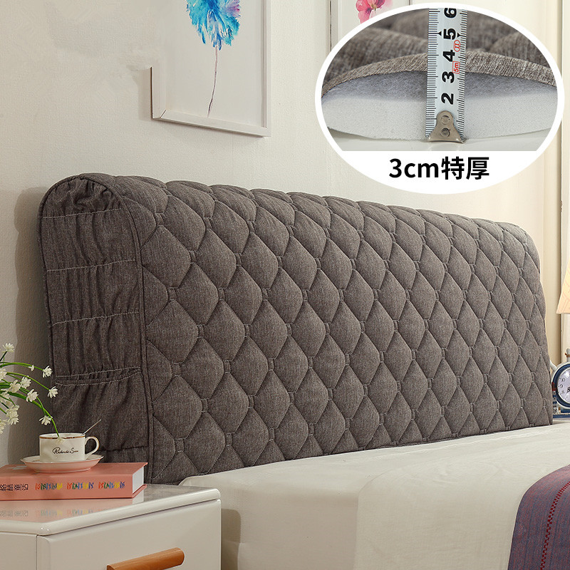Europeanstyle Bed Cover 120-220cm All Inclusive Fabric Comforters Dust Proof Elastic Double Bed Headboard Cover Protective CoverEuropeanstyle Bed Cover 120-220cm All Inclusive Fabric Comforters Dust Proof Elastic Double Bed Headboard Cover Protective Cover