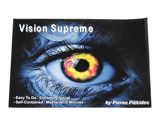 Free shipping! Vision Supreme - Magic Tricks,close-up MENTALISM magic props / wholesale,mind magic,close up