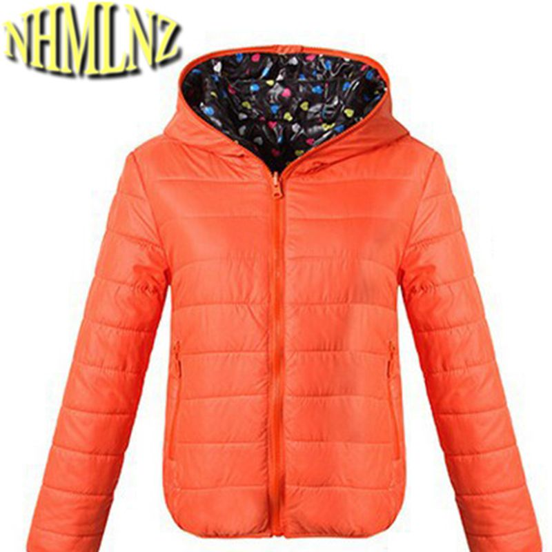 New Fashion Women Winter Down jacket Hooded Long-sleeved Both sides wear Brief paragraph Down jacket Super warm Thin Coat G1739 edition in the fall of new women s wear long sleeved sweater knit render unlined upper garment female hedge brief paragraph