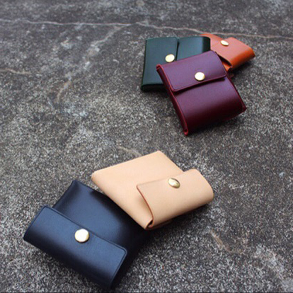 DIY Leather Craft Small Coin Bag Women Wallet Die Cutting Knife Mould Hand Punch