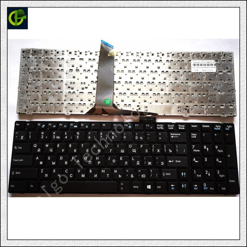 Clavier russe pour MSI MS-16GA MS-16GB MS-16GC MS-16GD MS-16GE MS-16GF MS-16GH S1N-3ERU291 S1N-3EUS204 S1N-3ERU2K1 RU