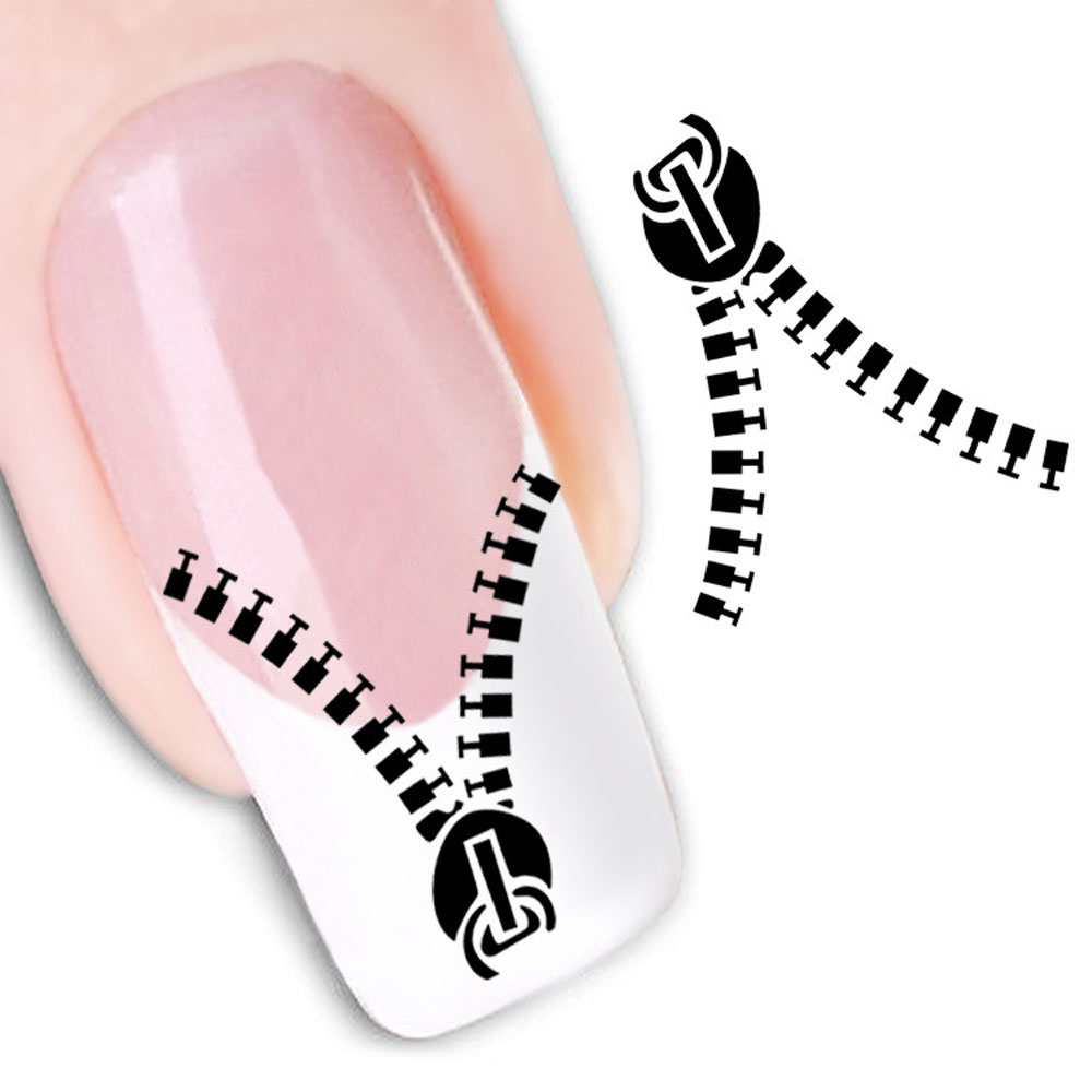Stickers decals nail stickers nail art decals fashion - Aliexpress Com Buy Fashion Water Transfer Nail Art Decals Stickers Cartoon Cat Flower Lips Nail Sticker Decorations Diy Tips For Nails From Reliable