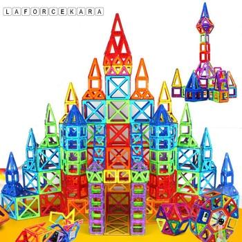 Brand 2017 Puzzle Mini Magnetic Designer Construction Set Model&Building Toy 164pcs Plastic Magnetic Blocks Educational Toys Kid