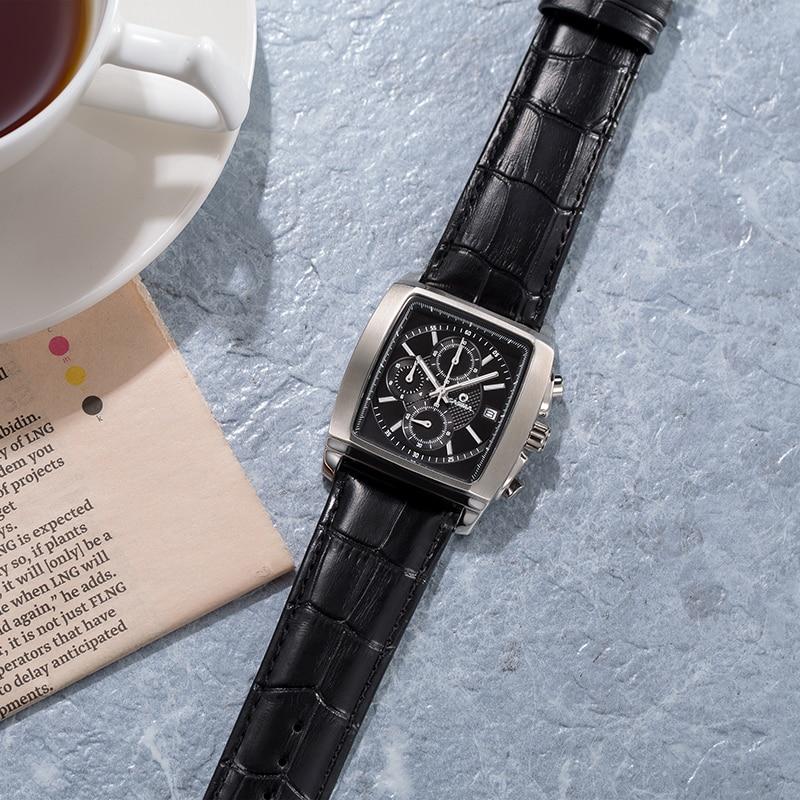 Lüks marka saatlar kişilərin moda biznes geyimləri klassik mens - Kişi saatları - Fotoqrafiya 3