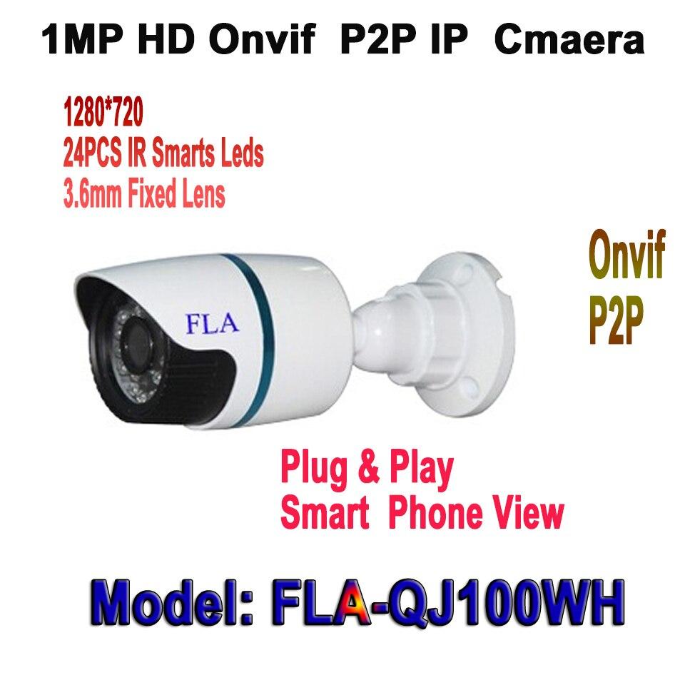 bilder für Bester Preis! ONVIF 720 P Ip-kamera Im Freien IR Nachtsicht Netzwerk 1.0MP CCTV HD Kamera P2P Sicherheit & Schutz kamera