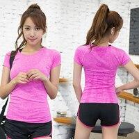 New Korean Women S Sports T Shirt Short Sleeved Summer Running Fitness Quick Drying Moisture Perspiration
