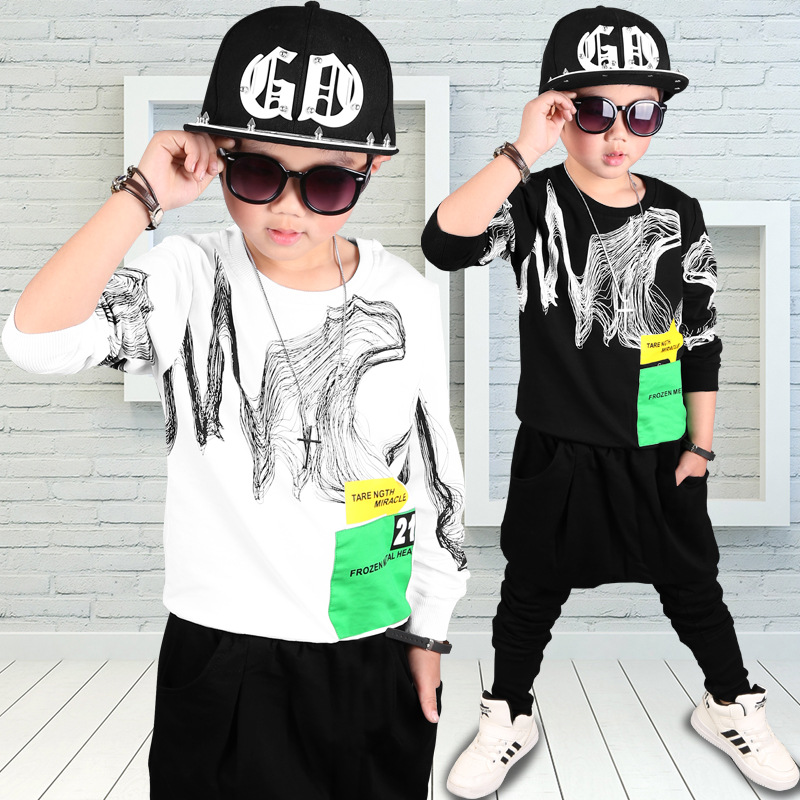 The New Listing Children Clothes Fashion Sport Suit Kids Toddler Boys Clothing Set Spring Kids Clothing for Boys Casual Sets 2015 new arrive super league christmas outfit pajamas for boys kids children suit st 004