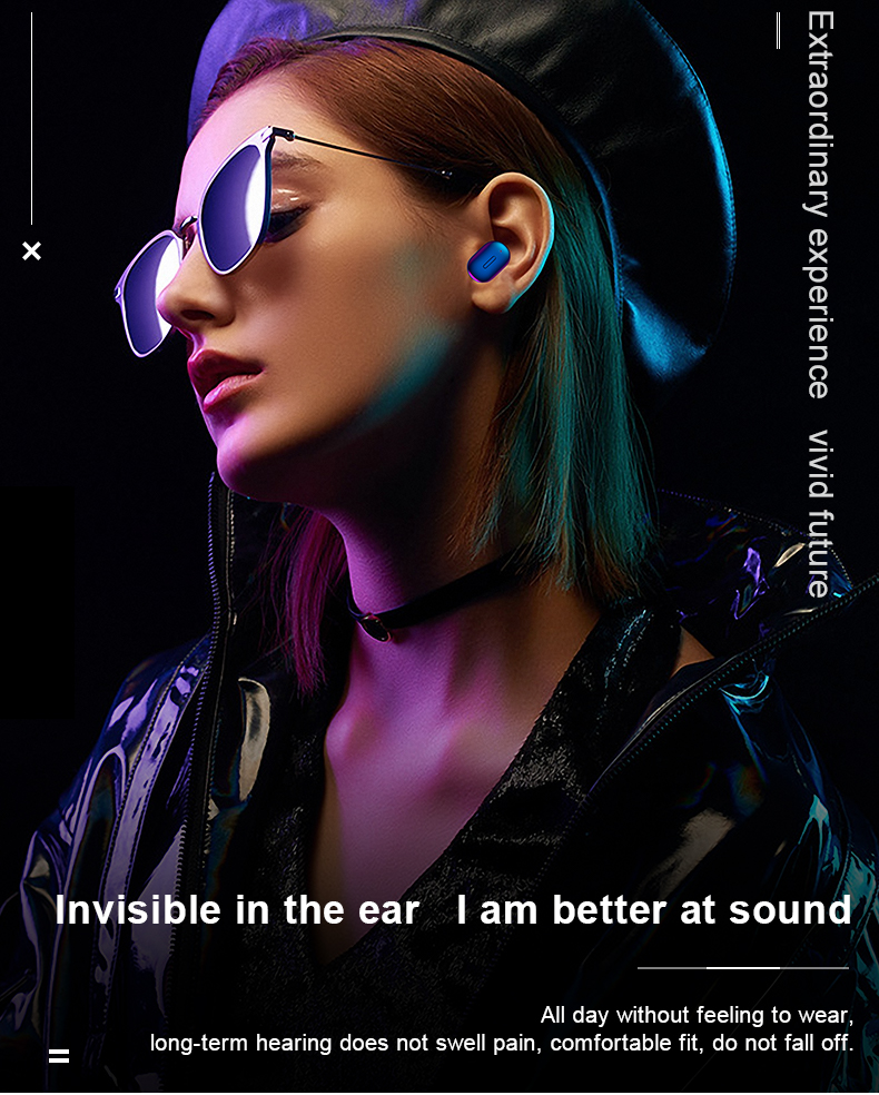 HTB1TxUjairxK1RkHFCcq6AQCVXaf Mini T1 TWS V5.0 Bluetooth Earphone 3D True Wireless Stereo Earbuds With Mic Portable HiFi Deep Bass Sound Cordless Dual Headset