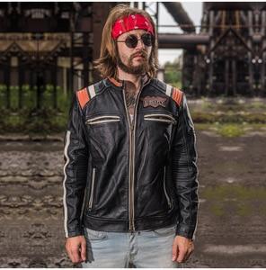 Image 5 - Genuine Leather Motorcycle Racing Jacket AVIREXFLY Motorbike MOTO Jacket cowhide leather Road ride jacket