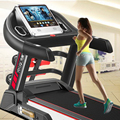 231237/Household multifunctional  Electric running machine /Silent design/ Damping system/Heart rate handrails/Hydraulic folding