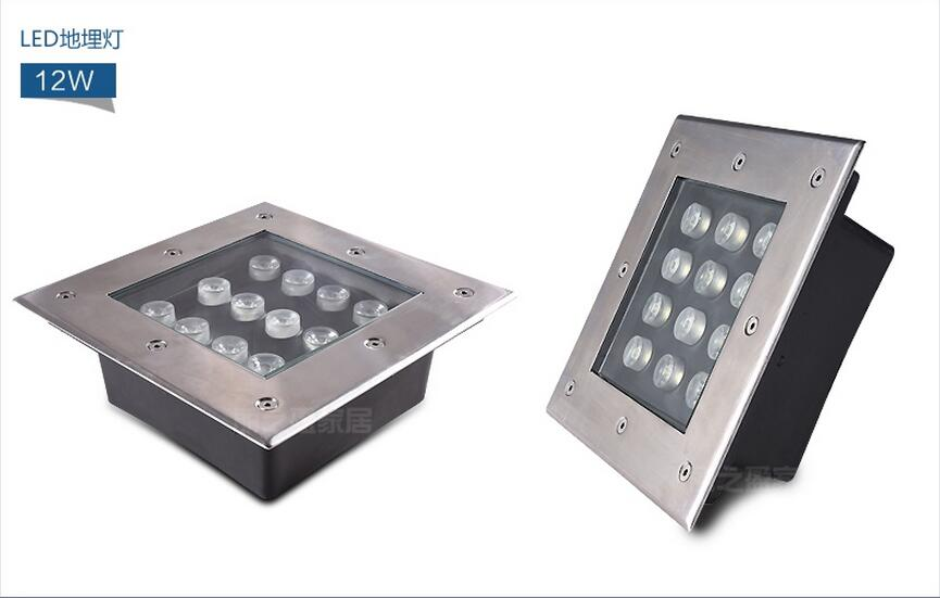 Led Underground Lamps 6pcs/lot Free Shipping Outdoor Spot Lighting Ip68 4w 5w 6w 9w 12w 16w 18w Square Led Underground Light Lamp Led Inground Light And Digestion Helping