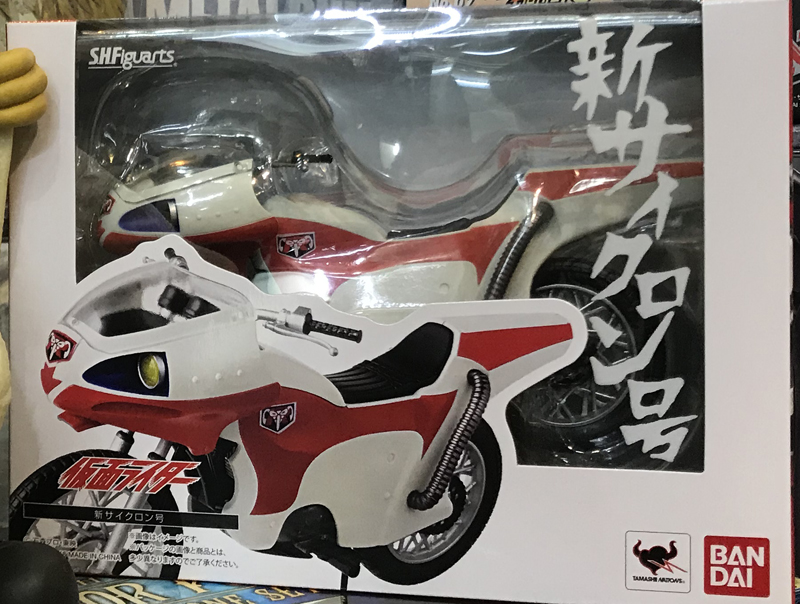 Image 4 - PrettyAngel   Genuine Bandai Tamashii Nations S.H. Figuarts Kamen Rider New Cyclone Action FigureAction & Toy Figures   -