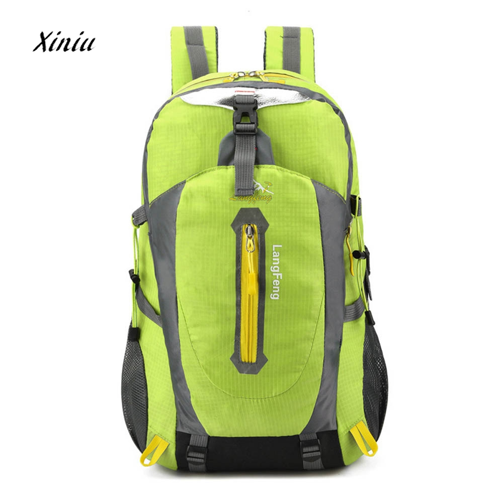 2018 New Fashion Men Large Capacity Backpack Travel Rucksack Backpack For Men Women Males Teengers 6 Colors Available