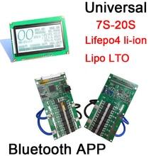 Dykb Smart Display 7S Tot 20S Lifepo4 Li Ion Lipo Lto Batterij Bescherming Bms Bluetooth App 400A 300A 100A 80A 10S 12S 13S 14S 16S