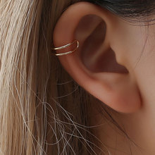 geometric no pierced ear cuff earrings for women clip on hole earcuff gothic cuffs earings