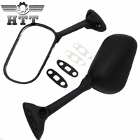 Aftermarket free shipping motorcycle parts Replacement Mirror For 2004 2005 GSXR 600 750 GSX R GSX R750 BLACK